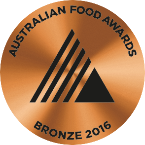Australian Food Awards 2016 - Bronze